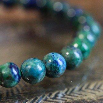 Bracelet pierre azurite