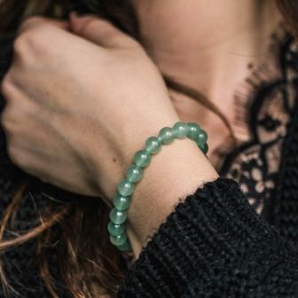 Bracelet pierre Aventurine
