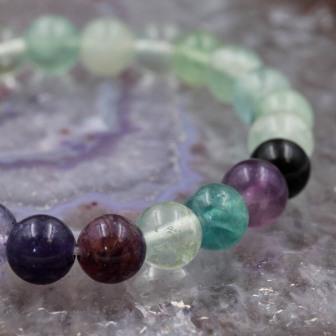 Bracelet pierre Fluorite