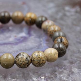 Bracelet pierre Jaspe Paysage