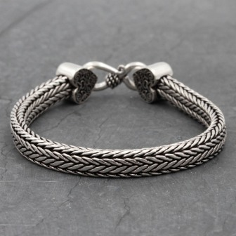 Bracelet Snake Platonique
