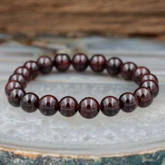 Bracelet pierre Grenat