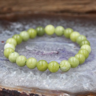 Bracelet pierre jade chinoise