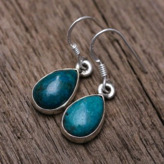 Boucle pierre chrysocolle
