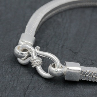 Bracelet snake New carré 4mm