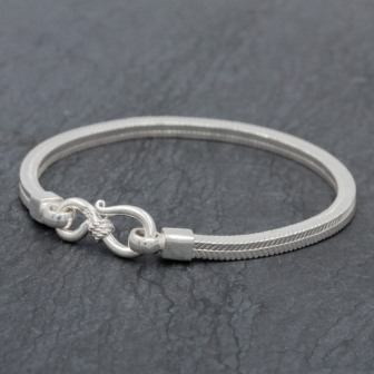 Bracelet snake new carré 3mm