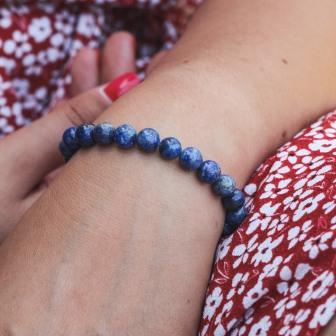 Bracelet pierre Lapis Lazuli